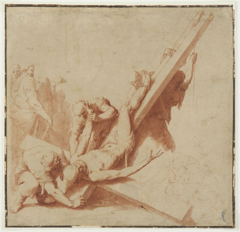 8-Распятие святого Петра - 1620-е годы.jpg