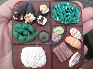 Bento Box, out of clay