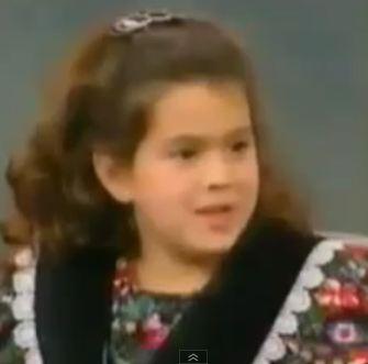 Семилетняя Эми Агаджанян на шоу Опры в 1993 г