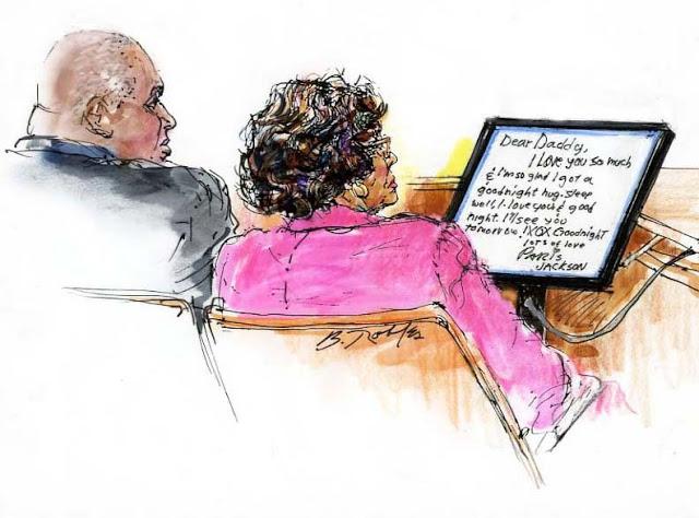 На суде Кэтрин Джексон против AEG.