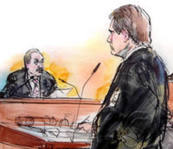 Прокурор Зонен допрашивает Марка Герагоса