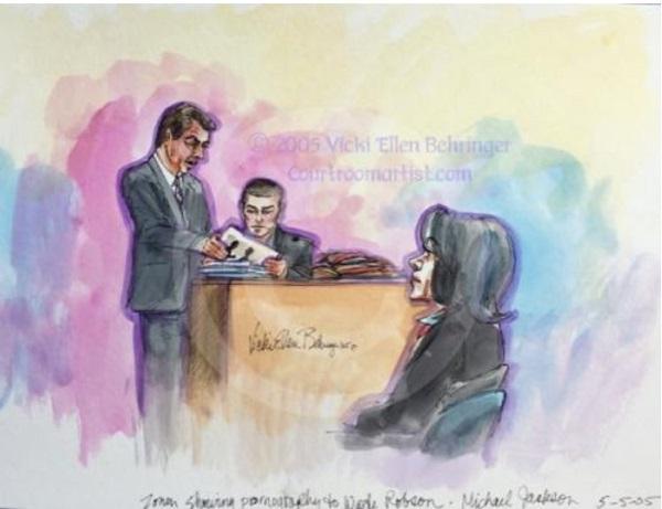 Прокурор Зонен допрашивает Уэйда Робсона.