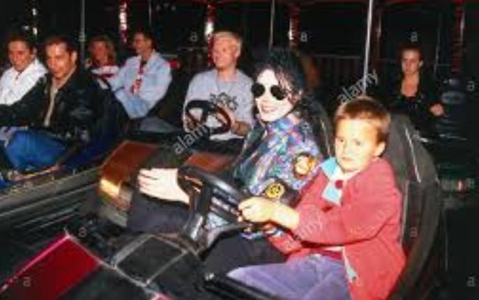 Майкл и Альберт на той вечеринке после концерта в Мюнхене.