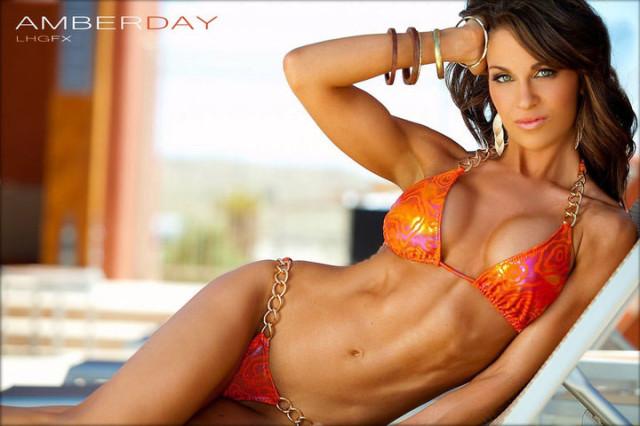 amber day фитнес девушки