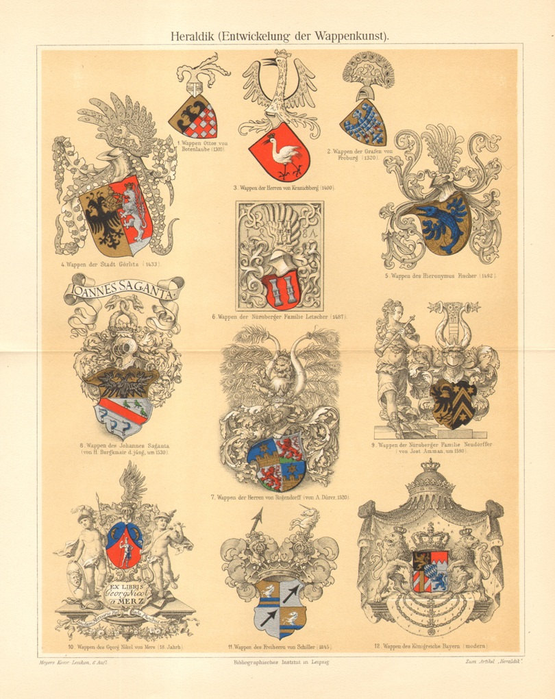 1904 the coat of arms of. Black Bedroom Furniture Sets. Home Design Ideas