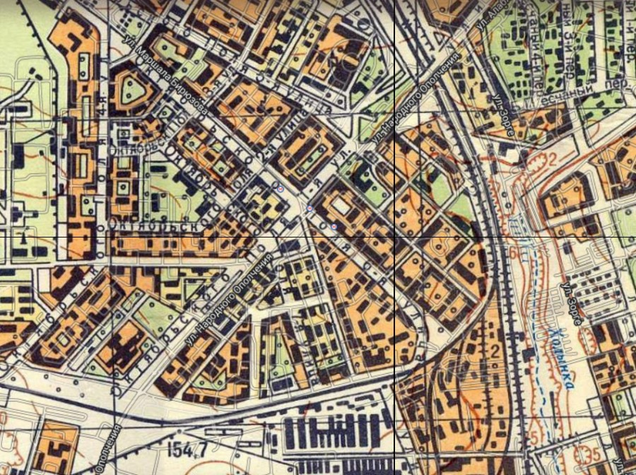 ходынка карта