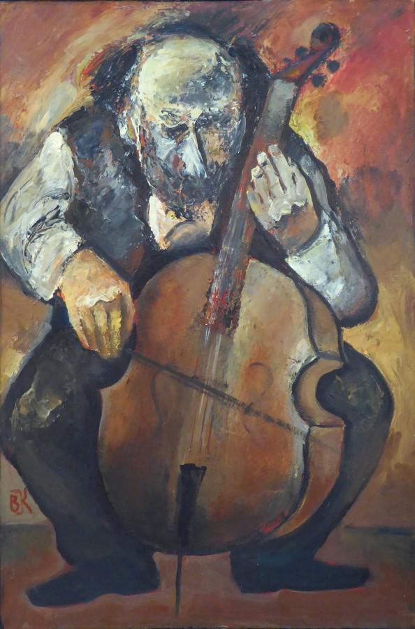 Benjamin Kletzel - Играющий на виолончели (2016).JPG