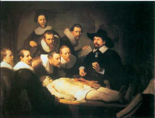 Urok anatomii rembrandt