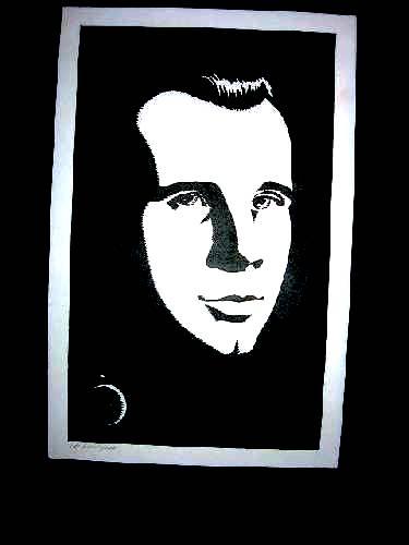 Гарагарин. Хорош. Но славы портрета Маяковского он снискал.
