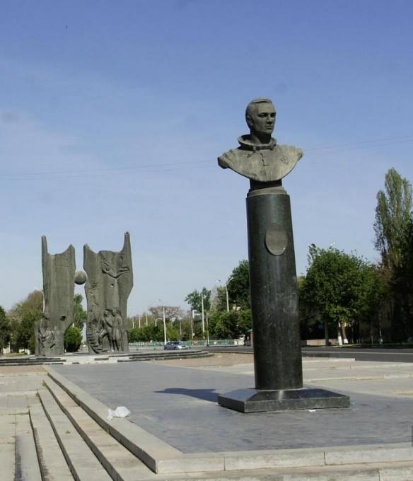 Космонавт Джанибеков.