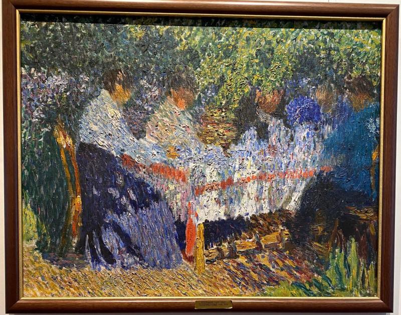 Игорь Грабарь. Послеобеденный чай, 1904