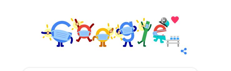 Сохраним эту заставку Гугла как историческую