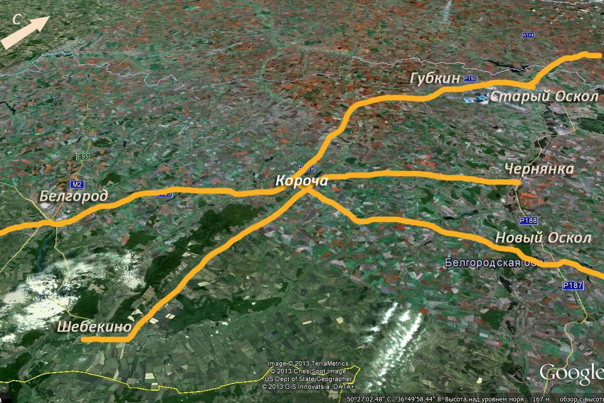Короча карта