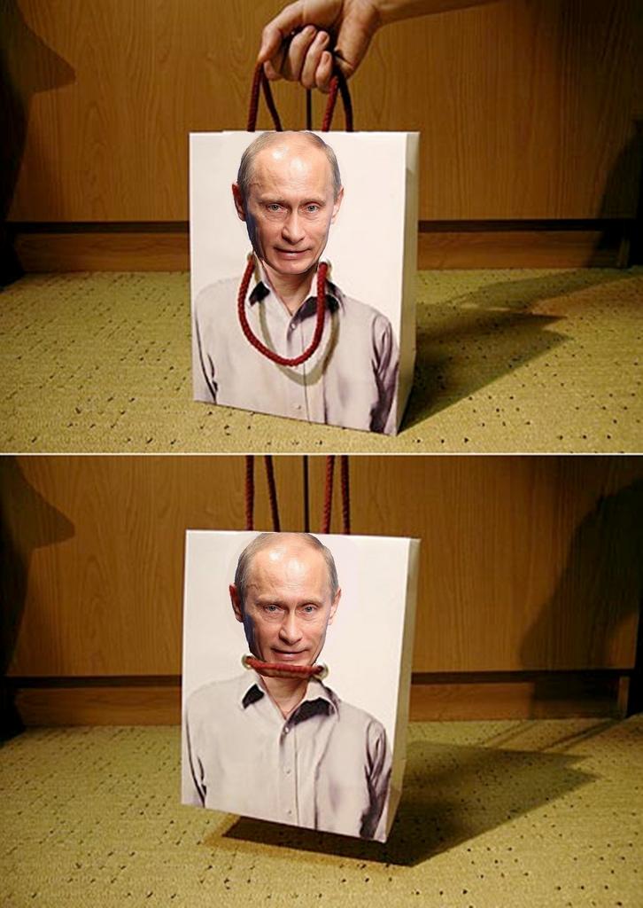 Путин - висельник