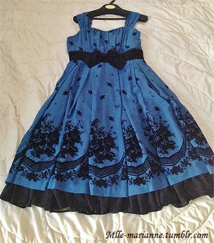 chiffon blue