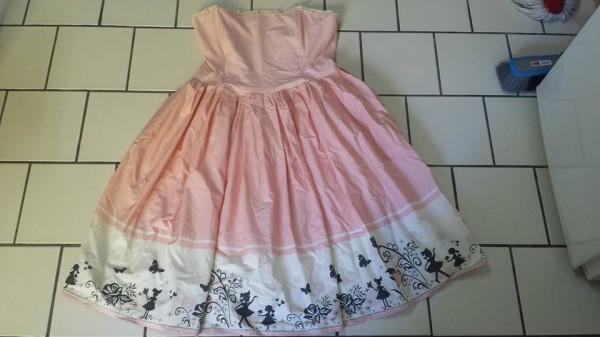 robe black cherry dress pink lolita alsace