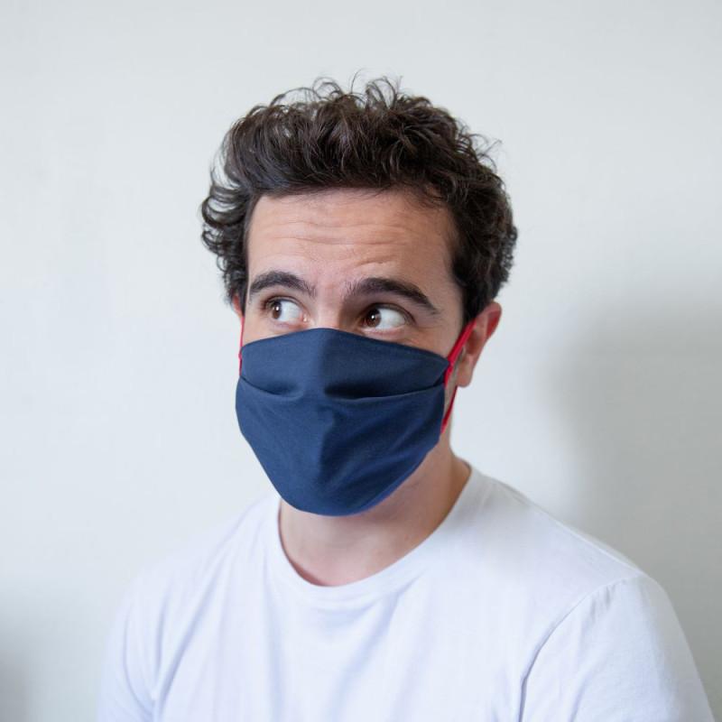 """Masque en tissu """"grand public"""" lavable et réutilisable - Filtration Garantie 40 lavages"""