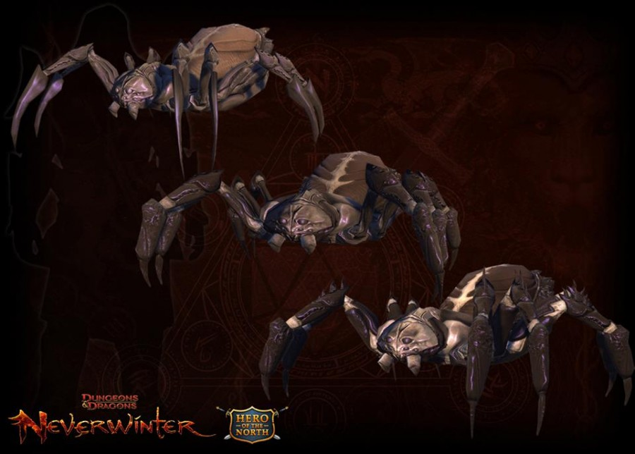 Neverwinter: Tomb Spider companion: mmodaq