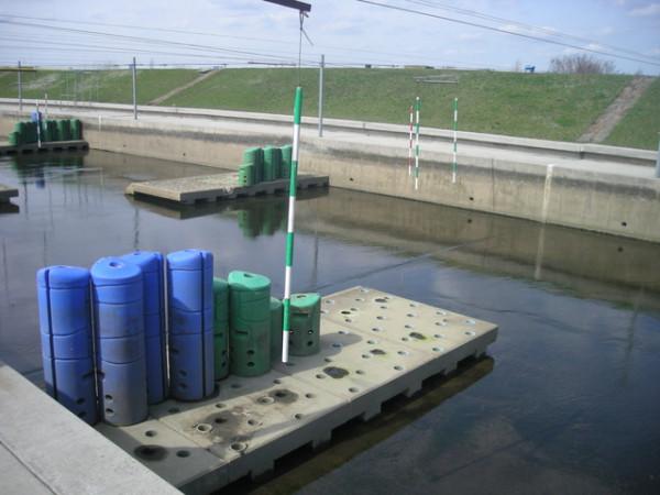 конструкции препятствий в Краковском канале, Польша