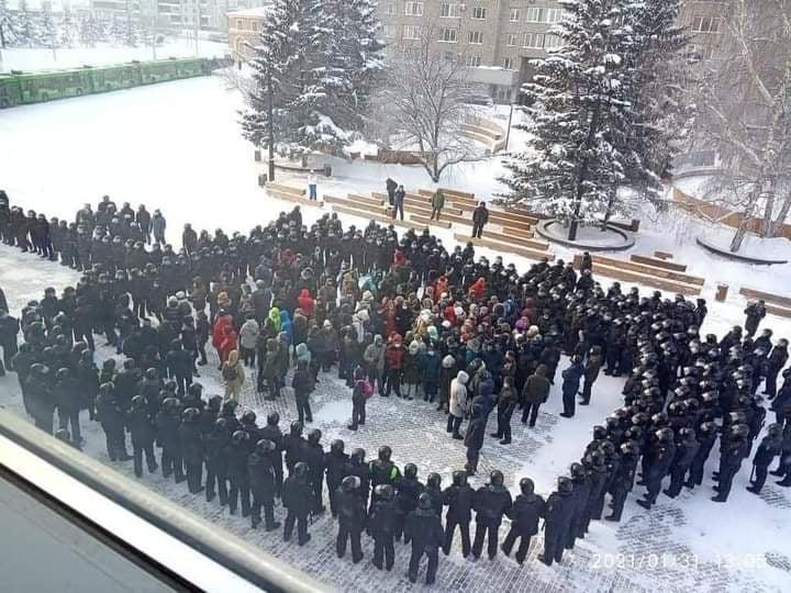 Красноярск 31-01-2021