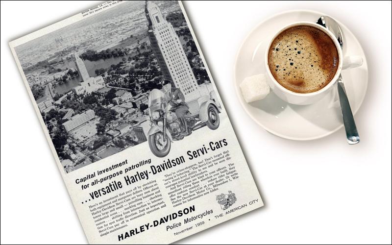 Трехколесный Harley-Davidson
