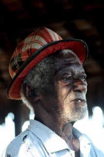 Malagasy man in hat