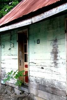 Abandoned Creole home