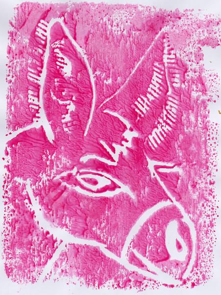 12 Stamp Donkey 1