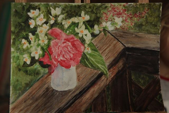 Francesca's Backyard Bouquet