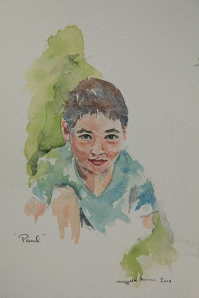 paul - watercolor