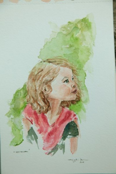 manon watercolor