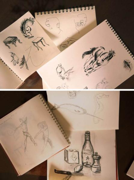 sketching samples
