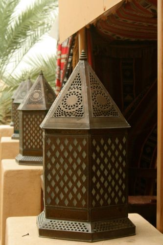Lanterns at the Madinat