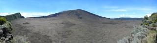 Panorama of the Piton