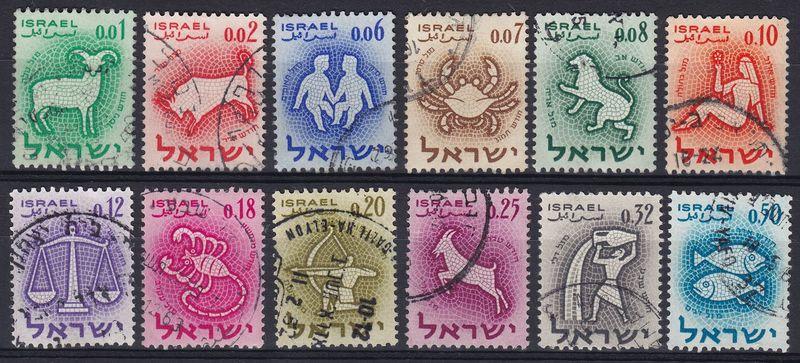 Israel zodiac 1961