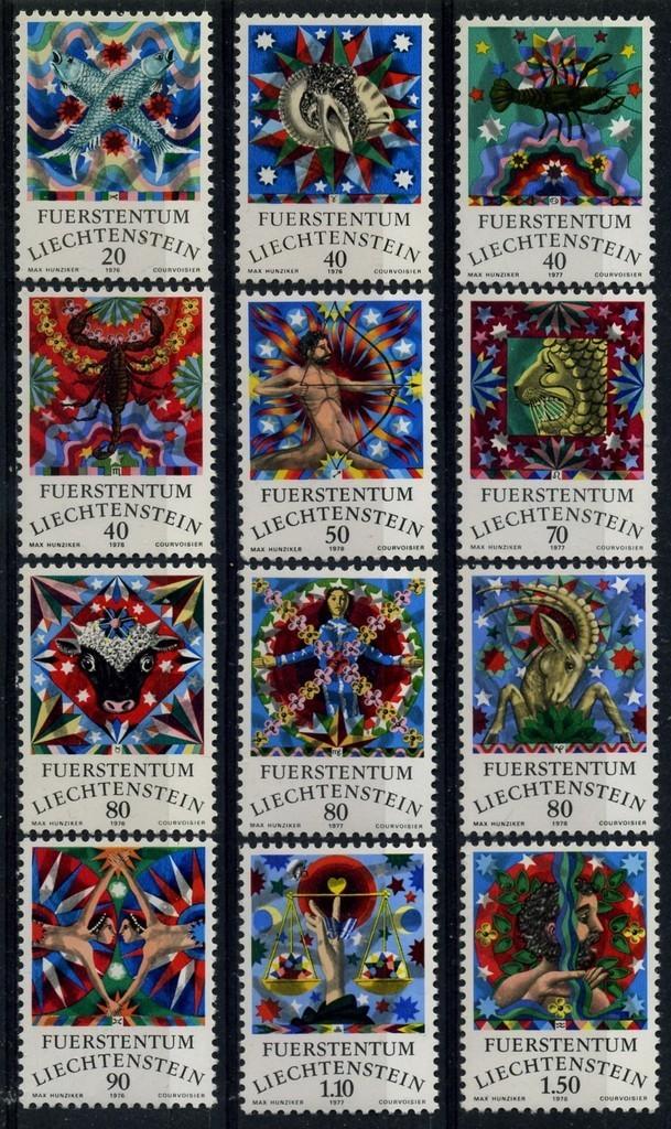 Liechtenstein zodiac