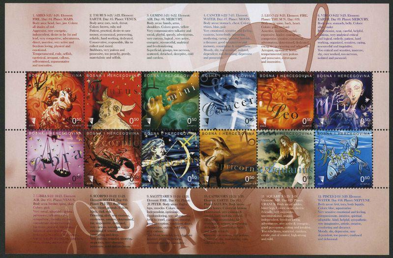 Bosnia zodiac
