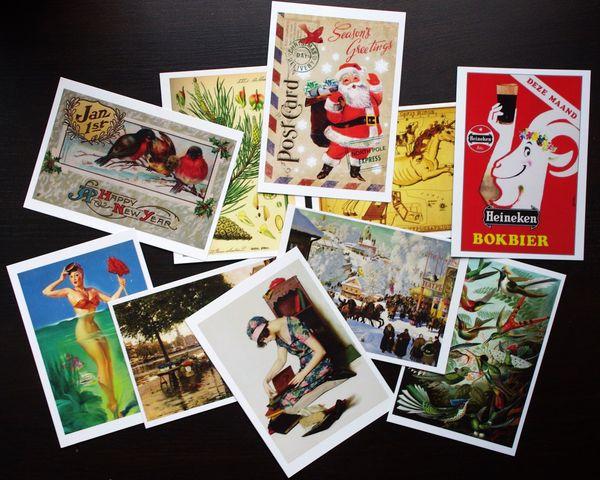 где можно купить открытки: