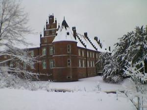 зима.замок