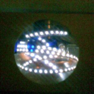Левитирующий светильник в темноте