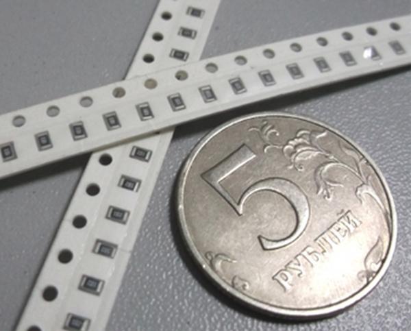 Резисторы smd (резисторы для поверхностного монтажа, безвыводные резисторы)