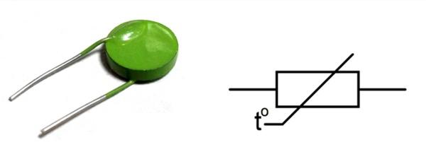 Резистор термочувствительный - термистор