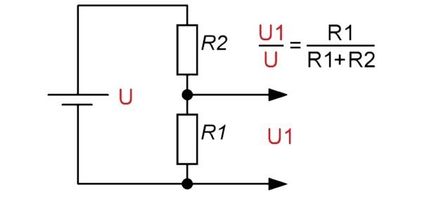 Резисторный делитель напряжения