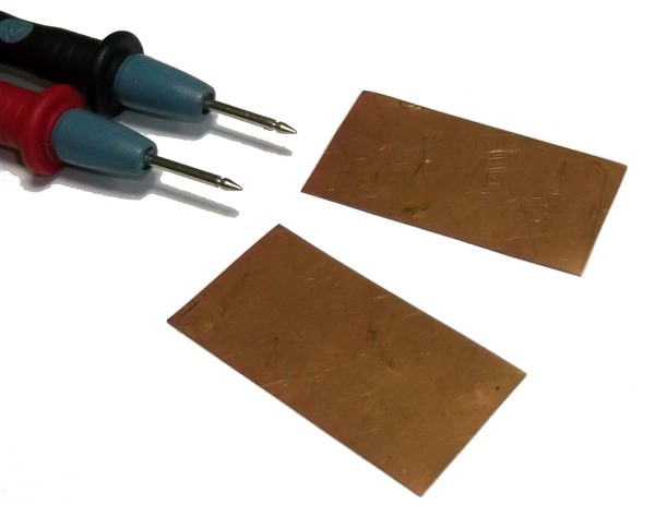 Плоские конденсаторы