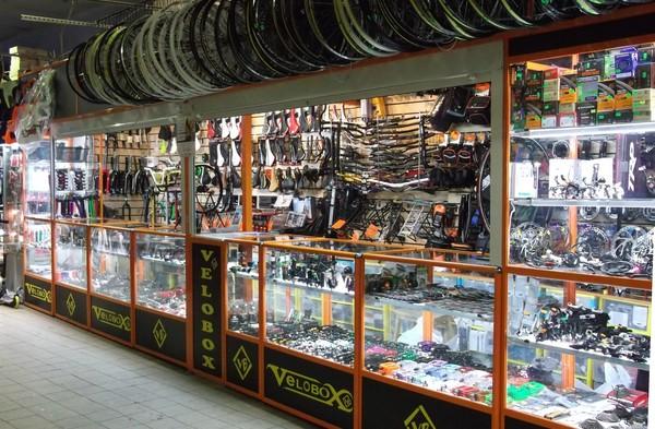 Велосипедный рынок в Сокольниках