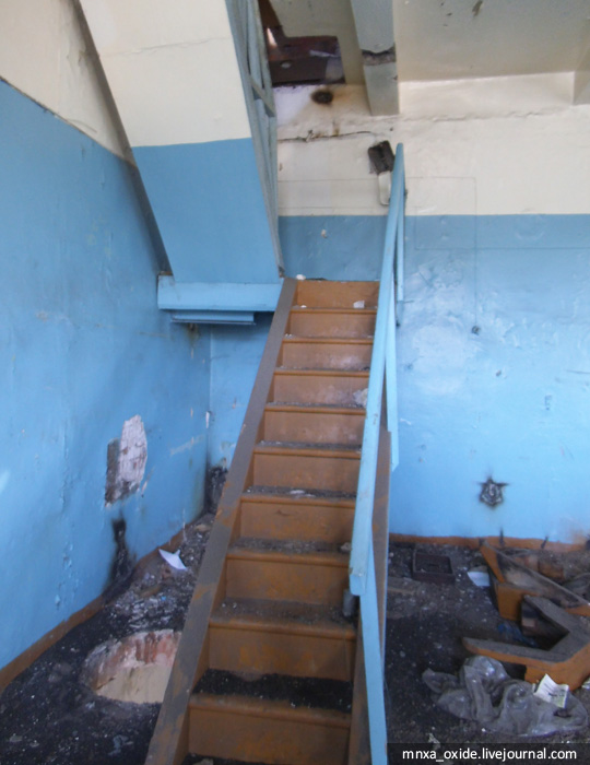 лестница мансарда