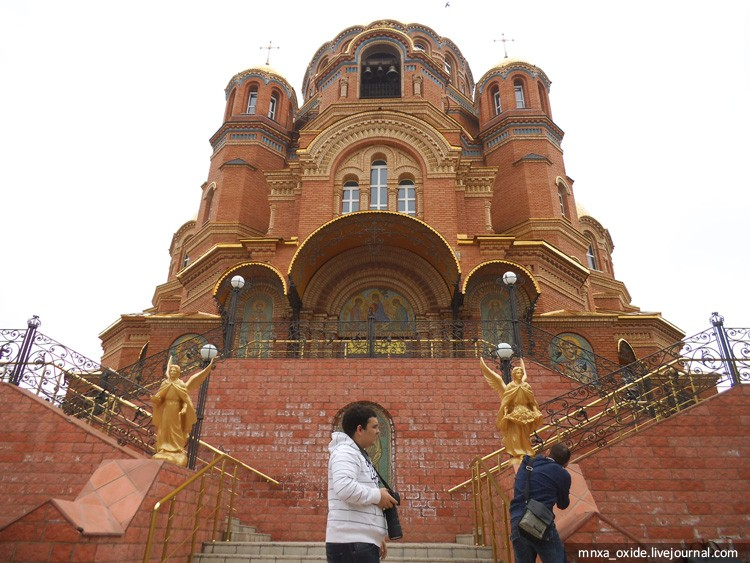 храм вход