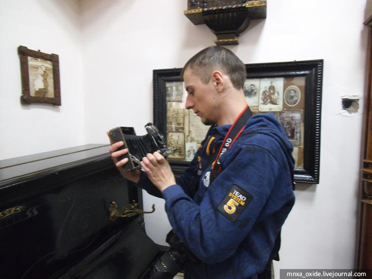 блогер и фотоаппарат