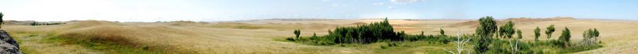 панорама карстовые поля
