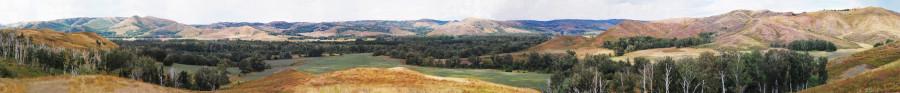 панорама гора мал